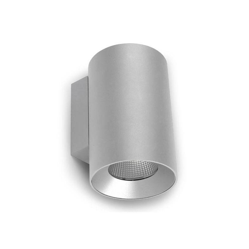 Apliques de exterior LED LEDS C4 Aplique exterior gris 11W Cosmos Leds C4 05-9952-34-CL