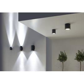 Apliques de exterior LED LEDS C4 Aplique exterior gris urbano 11W Cosmos Leds C4 05-9952-Z5-CL