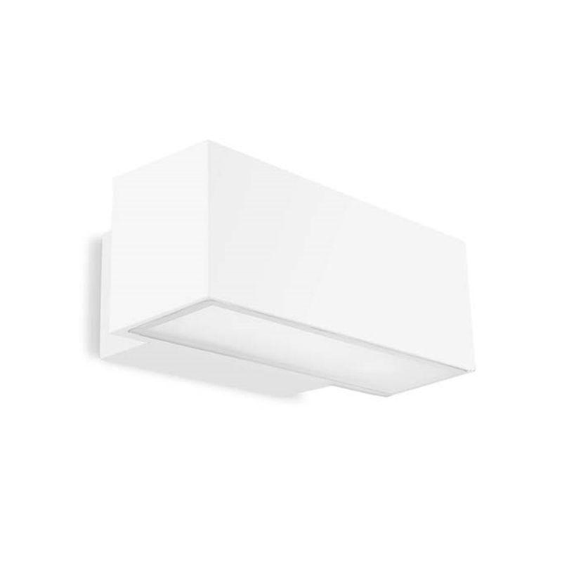 Apliques de exterior LED LEDS C4 Aplique exterior Afrodita blanco 19W Leds C4 05-9879-14-CL