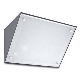 Aplique Exterior gris urbano Curie Glass 14W Leds C4 05-9884-Z5-CL