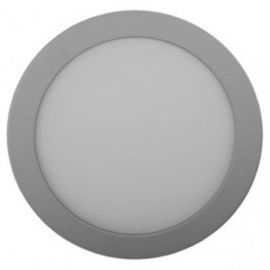 Downlight LED 22W aluminio Ø220mm luz cálida 3000K Jiso