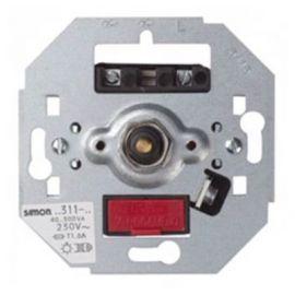 Regulador-interruptor de luz giratorio 300W Simon 75311-39 series 75,82,88