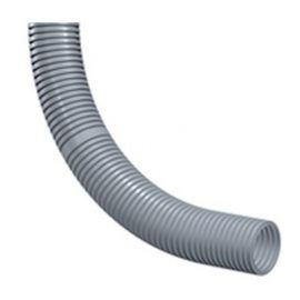 Tubo flexible gris LH IP67 LGPA DN10 rollo 50m