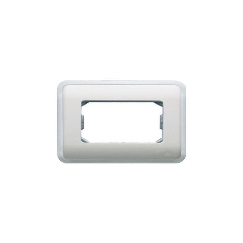 Interruptores y Enchufes por marca BJC Marco 4 elementos estrechos blanco BJC Rehabitat 16664-B - reemplazo Estrella