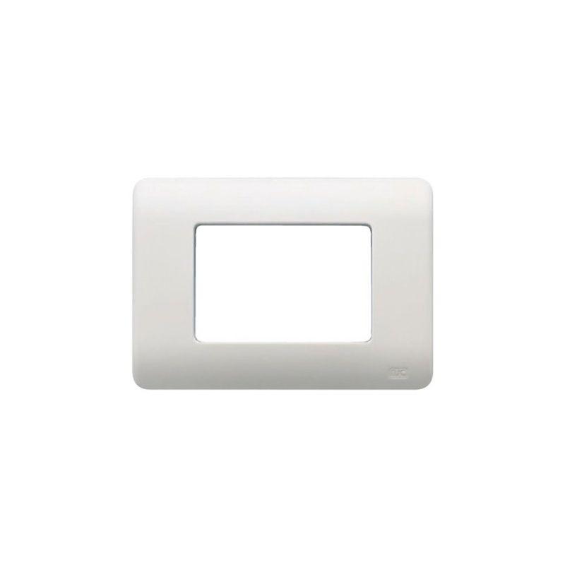 Interruptores y Enchufes por marca BJC Marco 3 elementos estrechos blanco BJC Rehabitat 16653-B - reemplazo Lineal