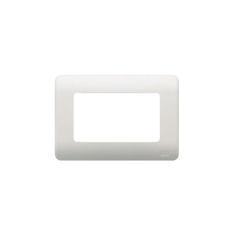 Interruptores y Enchufes por marca BJC Marco 4 elementos estrechos blanco BJC Rehabitat 16654-B - reemplazo Lineal