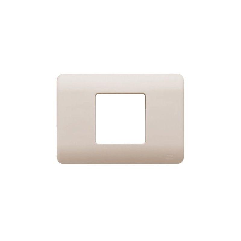 Interruptores y Enchufes por marca BJC Marco 2 elementos estrechos beige BJC Rehabitat 16652-A - reemplazo Lineal