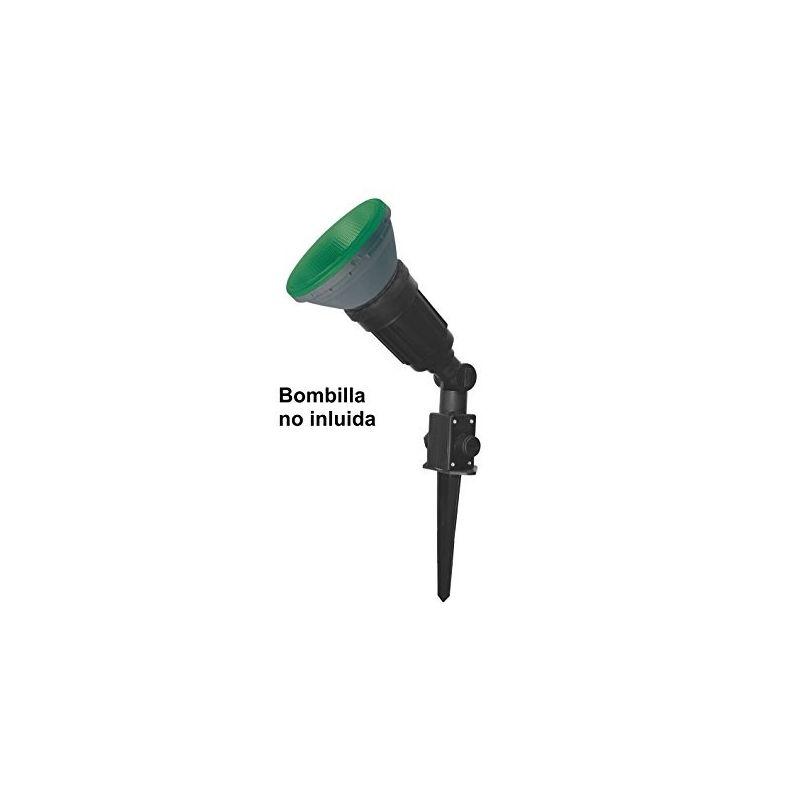 Iluminación de jardín PRILUX Pincho para foco de jardín PAR-38 E27 color negro