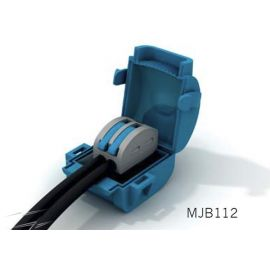 Caja empalmes aislada en gel 1 conector 1 polo Shellbox112