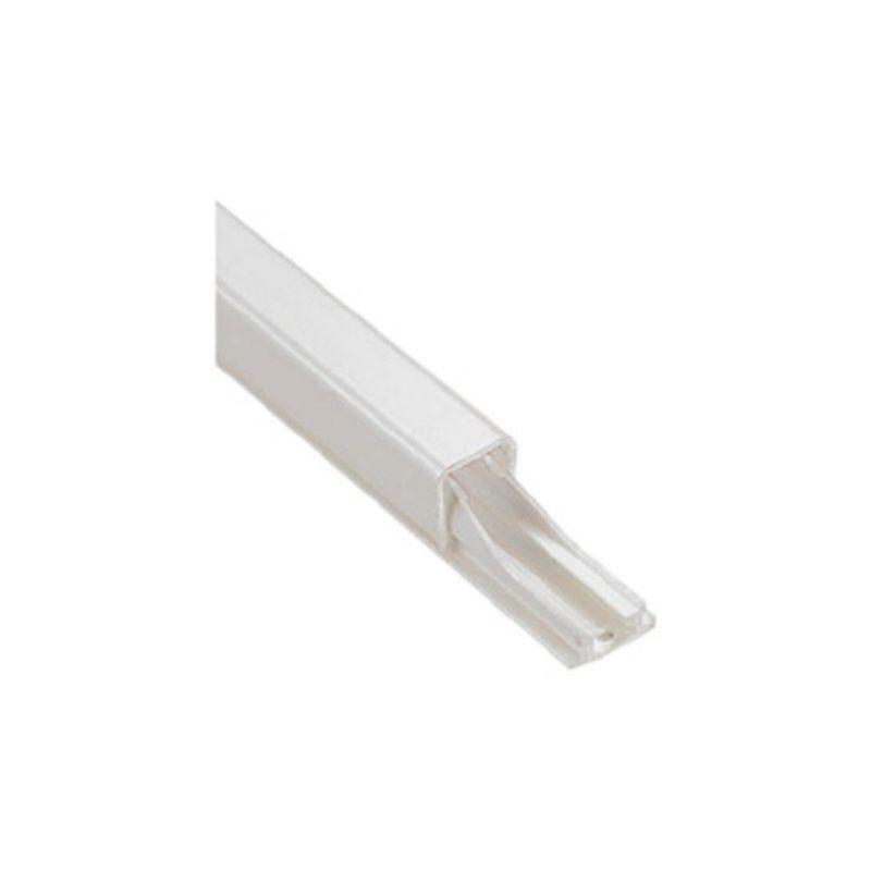 Canaletas LEGRAND Minicanal adhesiva 2,1 metros 10,5x11mm diámetro cable 7-9mm
