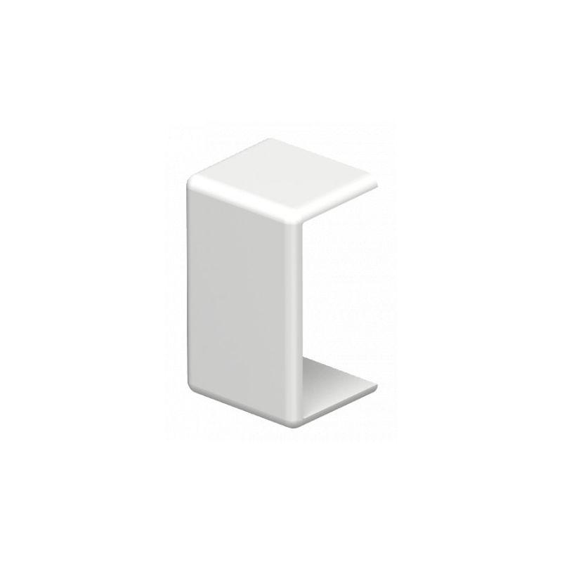 Canaletas OBO BETTERMANN Embelledor unión 10x20mm PVC blanco Obo Bettermann