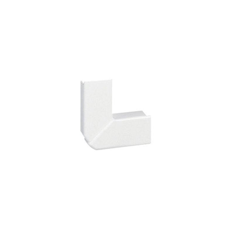 Canaletas LEGRAND Ángulo plano variable 20x12,5mm PVC blanco DLPlus Legrand