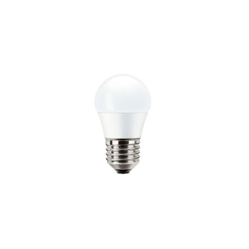 Lámparas LED con casquillo E27 MAZDA Bombilla led esférica E27 5,5W luz cálida 827 Mazda