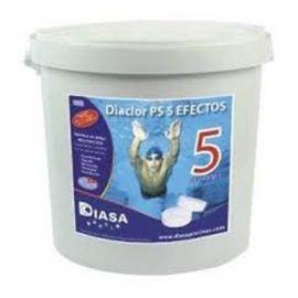 Cloro en pastillas Diaclor PS 5 efectos 5Kg Diasa