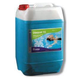 Algicida Diaquat 15 garrafa 5 litros Diasa