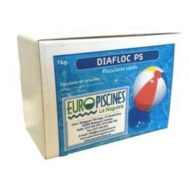 Floculante sólido 1 Kg en cartuchos para filtros Diafloc