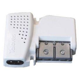 Amplificador vivienda UHF/FI 1 entrada 2 salidas Televes 560601