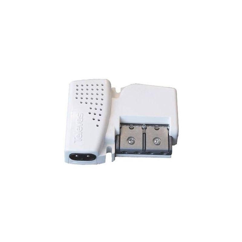 Amplificadores y Fuentes de alimentación TELEVES Amplificador vivienda UHF/FI 1 entrada 2 salidas Televes 560601