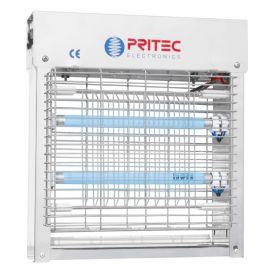 Mata insectos eléctrico Silver Inox Plus 2x11W Pritec IX0211R