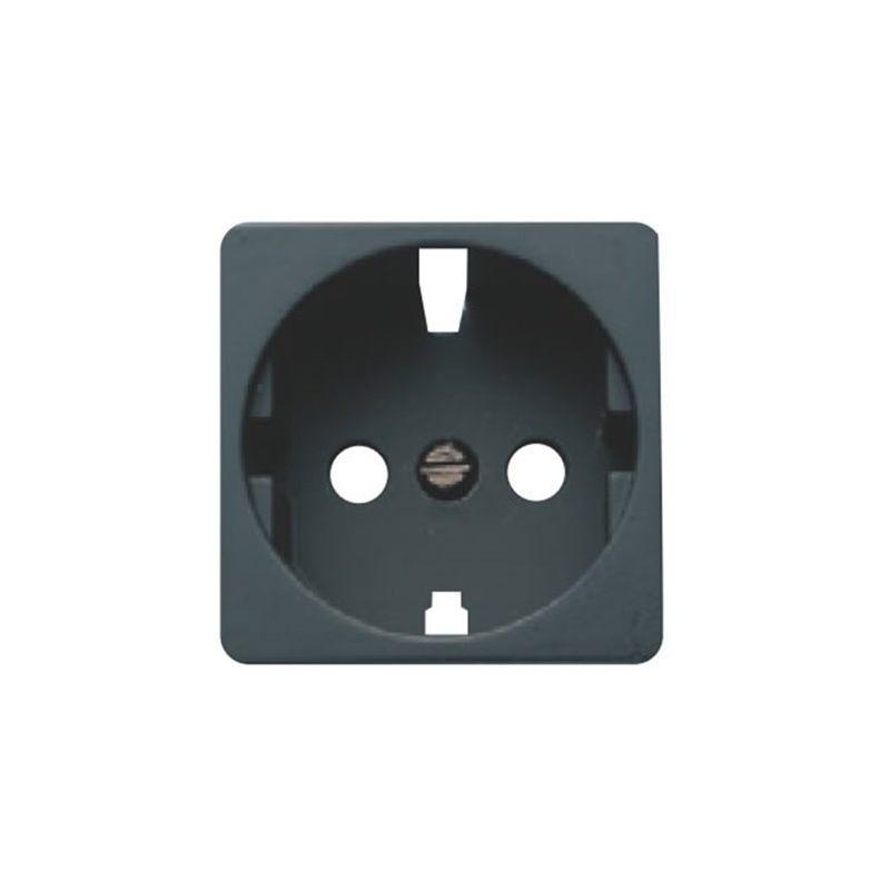 Interruptores y Enchufes por marca BJC Tapa enchufe 2P+TT caoba BJC Sol Teide 16724-M