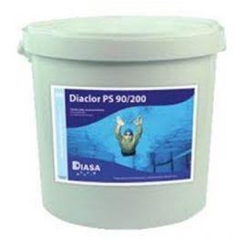 Cloro en pastillas Diaclor PS 90/200 disolución lenta 5Kg