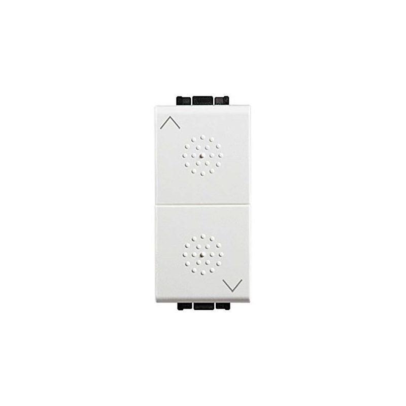 Interruptores y Enchufes por marca BTICINO Pulsador persianas doble  blanco Bticino Livinglight N4037