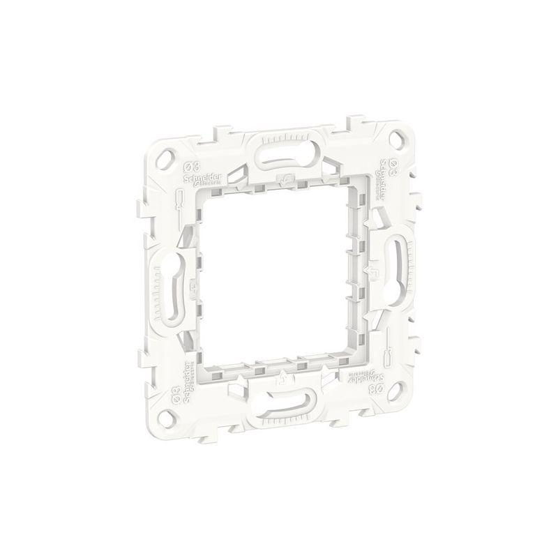 Interruptores y Enchufes por marca SCHNEIDER Bastidor de plástico Schneider New Unica NU7002P