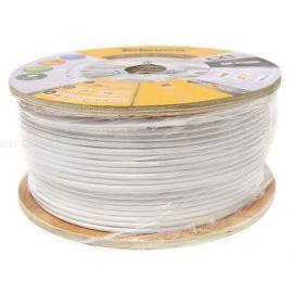 Cable coaxial blanco cobre-aluminio CXT 250 metros Televes