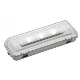 Emergencia led 400lm IP65 1h Hermetic DE-400L Normalux