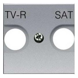 Tapa TV-R/SAT Plata Niessen Zenit N2250.1 PL