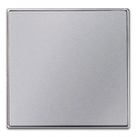 Tecla interruptor-conmutador plata Niessen Sky 8501PL