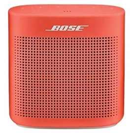Altavoz Bose Bluetooth SoundLink Color II rojo
