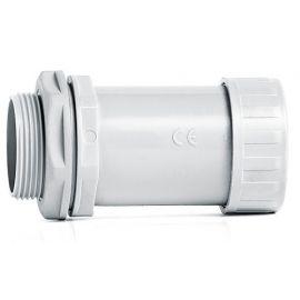 Racor gris para tubos rígidos diámetro 16 mm