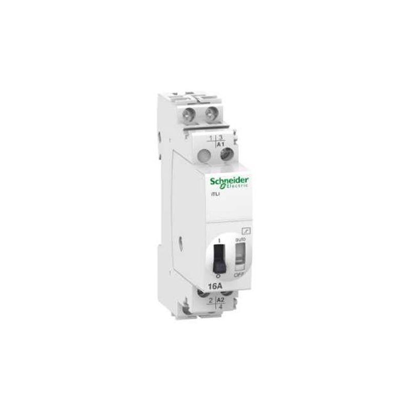 Contactores y Telerruptores SCHNEIDER Telerruptor iTLI 2P 1NO+1NC 16A bobina 110VCC-230VCA