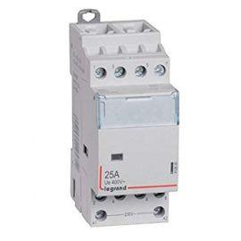 Contactor 25A 4NA 4P con bobina de 230V Legrand CX3 412535