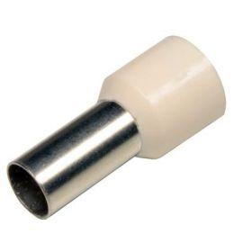 Sofamel Puntera hueca aislada corta 16mm color marfil (100 uds)