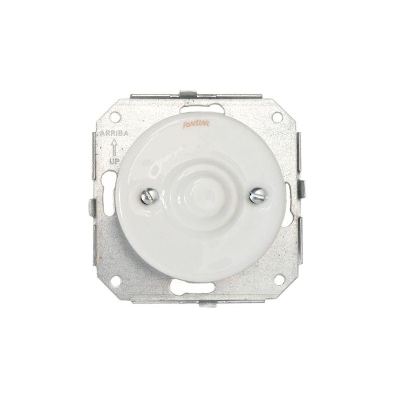 Interruptores y Enchufes por marca FONTINI Tapa ciega porcelana blanco Fontini Garby Colonial 31-656-17-2