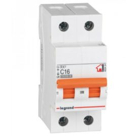 Interruptor Automático Magnetotérmico 1P+N 16A Legrand RX3 Vivienda