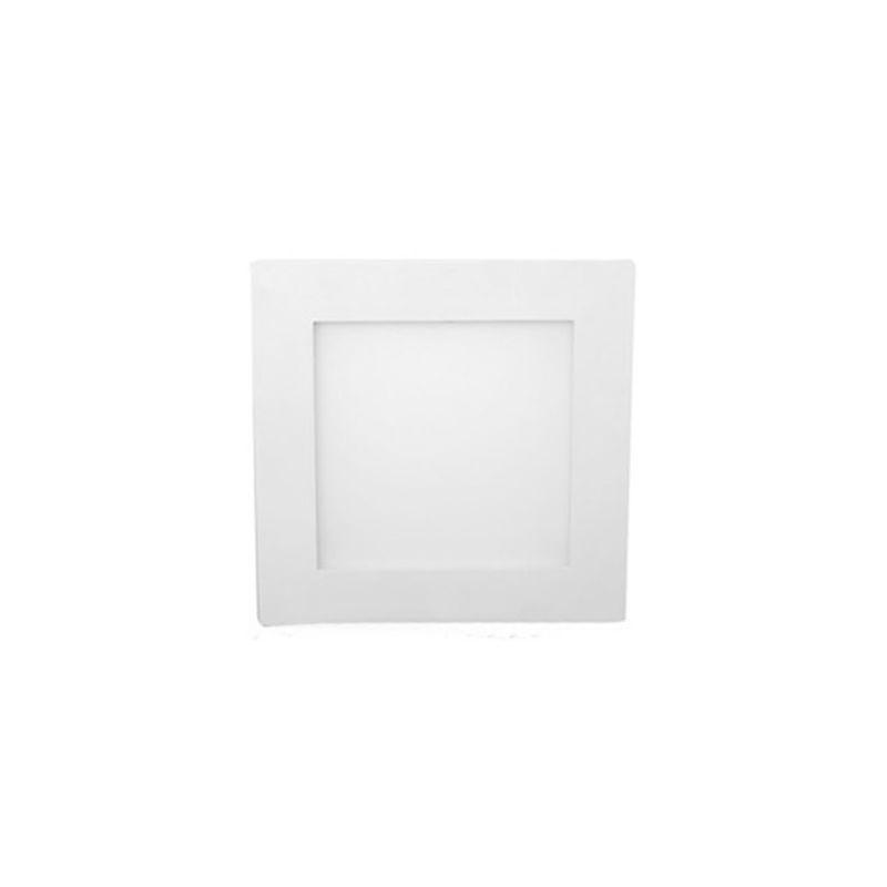 Downlights Led cuadrados JISO Downlight Cuadrado Blanco Micro Panel Extraplano LED 8W 400 LM