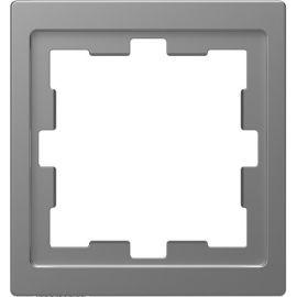 Marco 1 elemento aluminio Schneider D-life MTN4010-6536