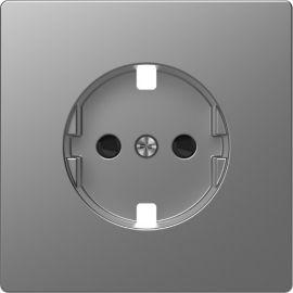 Tapa schuko 16A aluminio Schneider D-life MTN2330-6036