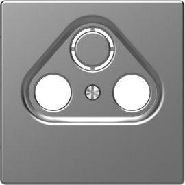 Caratula toma R-TV/SAT aluminio Schneider D-Life MTN4123-6036