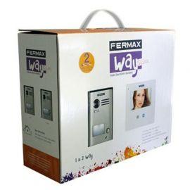 """Kit Videoportero Way Slim 4,3"""" para una vivienda Fermax 1421"""