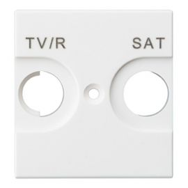 Tapa TV/R-SAT blanco Valena Next 741273 para Televés