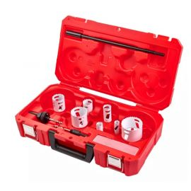 Estuche con juego de coronas Hole Dozer de Milwaukee 4932451730