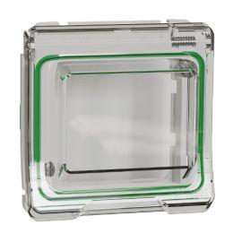 Interruptores y Enchufes por marca SCHNEIDER Adaptador blanco para mecanismos Unica con tapa Schneider Mureva Styl MUR39106