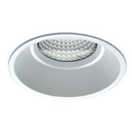 Aro empotrable LED blanco 10W luz cálida 3000K IP44 Jiso 51010-2953-90