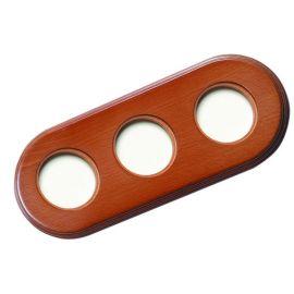 Marco 3 elementos madera de haya color miel Fontini Garby Colonial 31-803-19-2