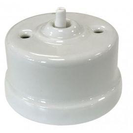 Cruzamiento porcelana blanco sin manecilla Fontini Garby 30-304-17-1