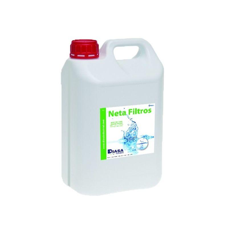 Mantenimiento agua piscina DIASA INDUSTRIAL Limpiador de lecho filtrante Netafiltros 5Kg de Diasa Industrial 020036.00005